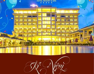 Gold-coast-hotel-resort & Spa-ky-niem-1-năm-thanh-lap