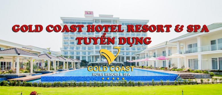Gold Coast Hotel Resort & spa tuyển dụng các vị trí sau: