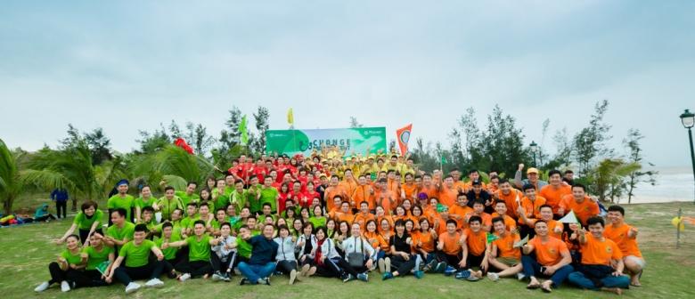 """Team Building và Tân Niên 2018 """" Thay đổi để khác biệt'' – Merap group"""
