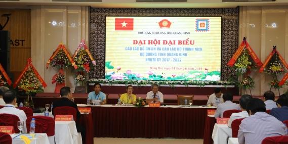 Ngày 1/6 vừa qua, hội đồng họ Dương tỉnh Quảng Bình, đã tổ chức Đại hội đại biểu họ Dương nhiệm kỳ 2017 - 2022 tại Grand Hall, thuộc hệ thống nhà hàng khách sạn Gold Coast Hotel Resort and Spa